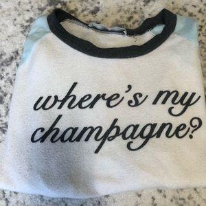 "Vintage Havana,""Where's My Champagne"" soft shirt"